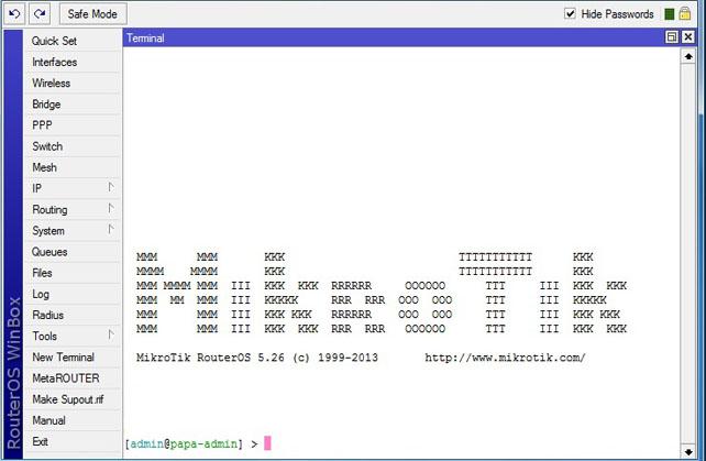 RouterOS, Winbox