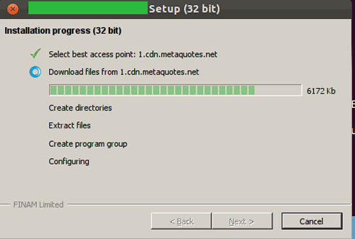 установка metatrader на Linux