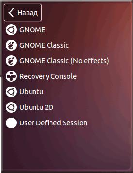 Gnome на Ubutnu 12.04